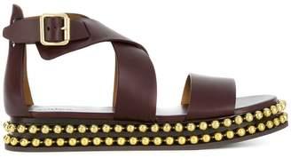 Chloé studded platform sandals