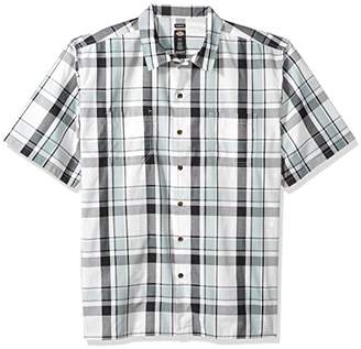 Dickies Men's Yarn Dyed Short Sleeve Camp Shirt