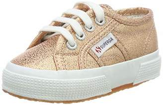 Superga Unisex Kids' 2750 Lamej Low-Top Sneakers,6.5 Child UK EU