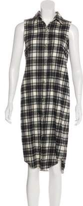 Jenni Kayne Plaid Midi Dress