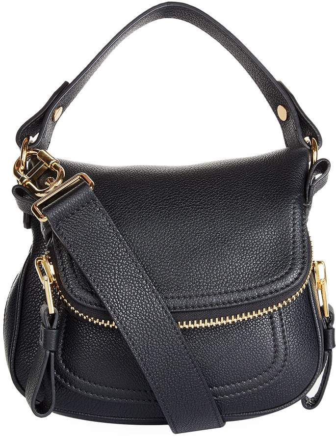 TOM FORD Small Jennifer Cross Body Bag, Black, One Size