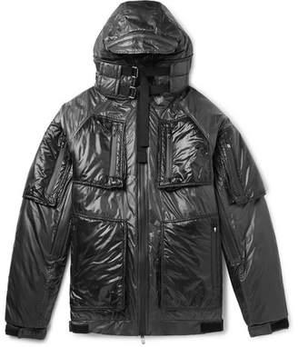 TAKAHIROMIYASHITA TheSoloist. Padded Nylon Hooded Jacket