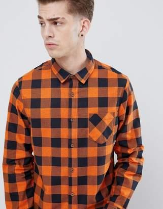 Brave Soul Flannel Buffalo Check Shirt