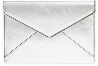 Rebecca Minkoff Leo Mirror Metallic Envelope Clutch