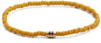 Luis Morais - Mini Barrel Beaded Bracelet - Mens - Yellow