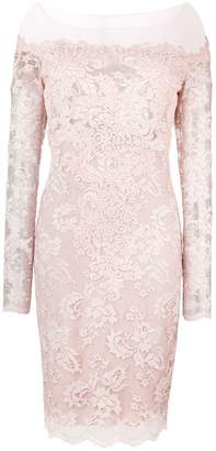 Olvi ́S lace-embroidered fitted dress