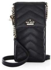 Kate Spade Quilted North South Quilted Phone Case