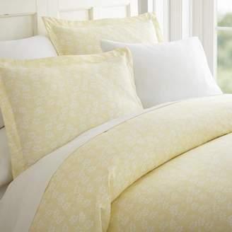Noble Linens Premium Ultra Soft 3 Piece Wheatfield Printed Duvet Cover Set