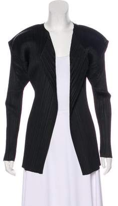Pleats Please Issey Miyake Pleated Casual Jacket
