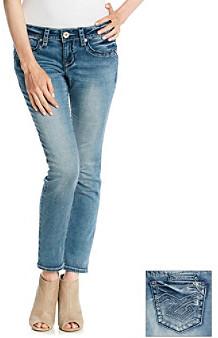 Hydraulic Bailey Soft Touch Knit Denim Skinny Jeans