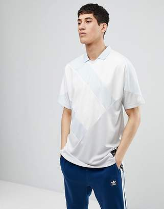 adidas EQT 18 Polo Shirt In Gray CD6847