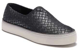 Stuart Weitzman Givein Woven Platform Sneaker