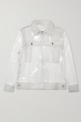 Rains Glossed-tpu Jacket - Clear