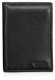 Tumi Chambers Leather L-Fold ID ID Wallet