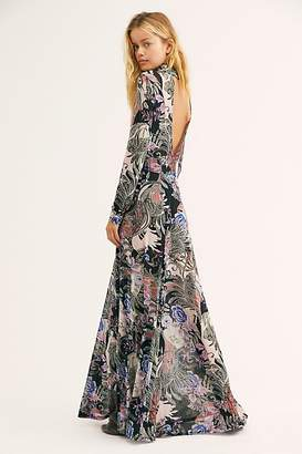 Free People All In One Mesh Maxi Slip