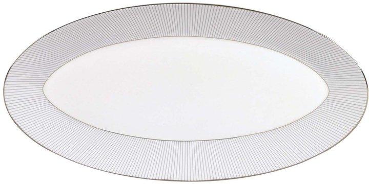 WedgwoodWedgwood Blue Pin Stripe Oval Platter