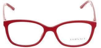 Versace Square Frame Eyeglasses