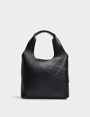 Hogan Hobo Bag in Altraversione Grained Leather