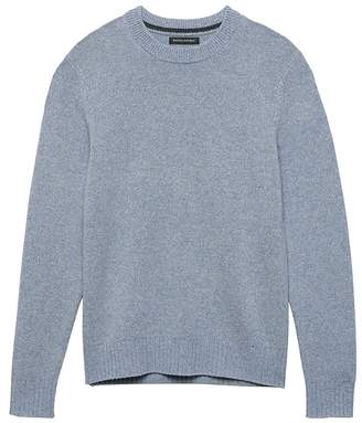 Banana Republic Italian Merino Wool Crew-Neck Sweater