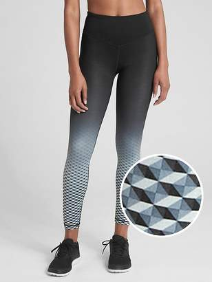 Gap GFast Blackout V-Waist Ombre Print Leggings