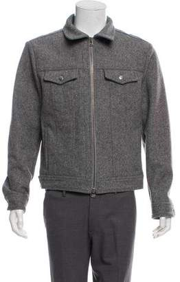 Ami Alexandre Mattiussi Wool Utility Jacket