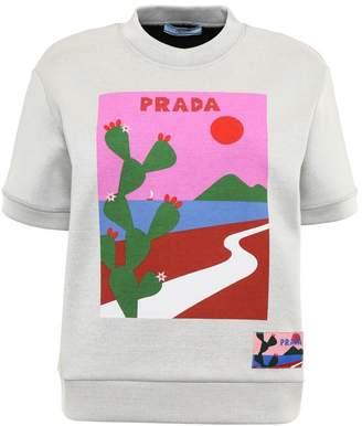 Prada Linea Rossa Printed Sweatshirt