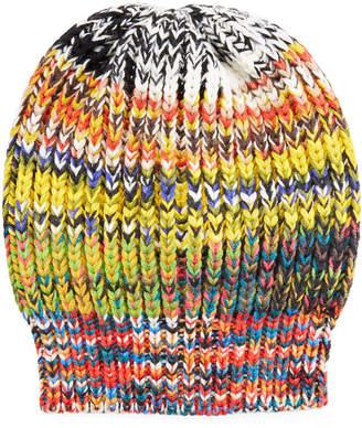 Missoni Multicolored Volume Knit Hat
