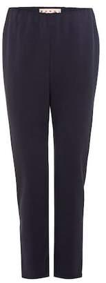 Marni Crêpe cropped trousers