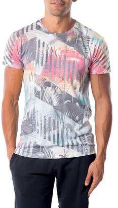Sol Angeles Deco Palms Print T-Shirt