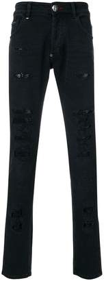 Philipp Plein Miyoko super straight cut jeans
