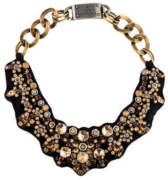 pradaPrada Crystal Collar Necklace