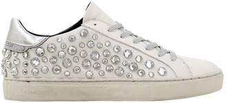 20mm Embellished Leather Sneakers