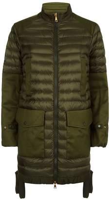 Moncler Cyanite Military Padded Parka Jacket