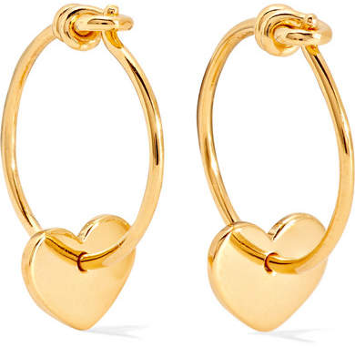 I+I II - Gold-plated Earrings