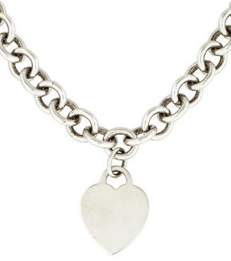 Tiffany & Co. Heart Tag Pendant Necklace $245 thestylecure.com