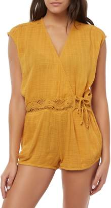 O'Neill Saltwater Solids Cover-Up Romper