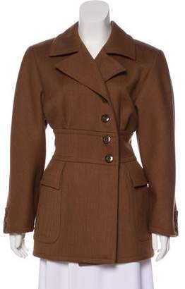 Valentino Wool Short Coat