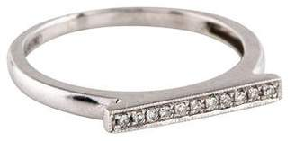 Sylvie Dana Rebecca 14K Diamond Rose Bar Ring