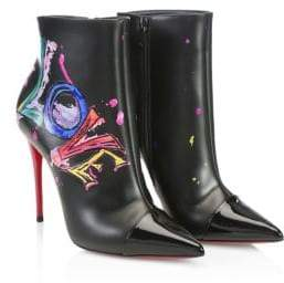 Christian Louboutin In Love Leather Boots