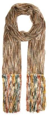 Missoni Open Knit Tasseled Scarf - Womens - Multi