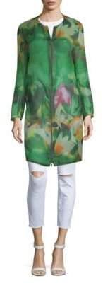 Akris Diedra Floral Silk Jacket