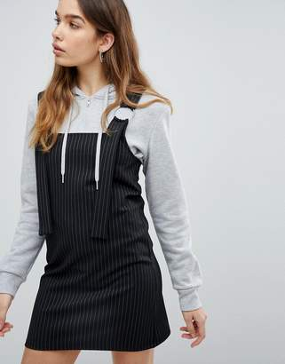 Pull&Bear Stripe Pinafore