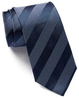 HUGO BOSS Silk Woven Tie $95 thestylecure.com