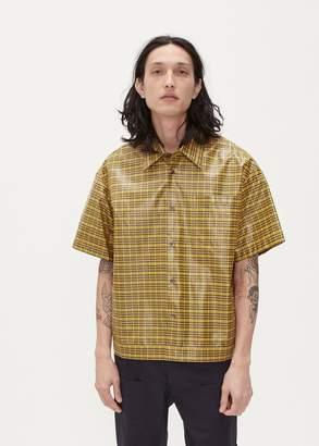 Deveaux Coated Elasticated Resort Shirt