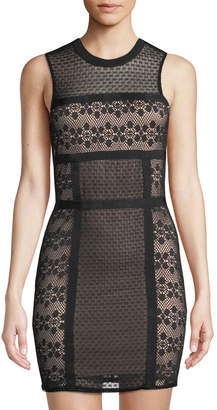 Ali & Jay Hola Mamacita Lace Illusion Bodycon Dress
