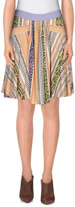 Just Cavalli Knee length skirts