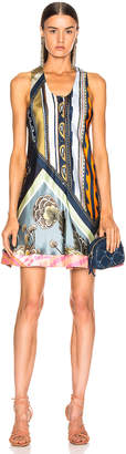 Chloé Caravane Print Dress in Multicolor Blue | FWRD