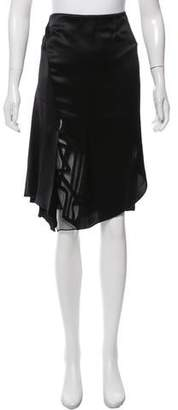 Maiyet Satin Knee-Length Skirt w/ Tags
