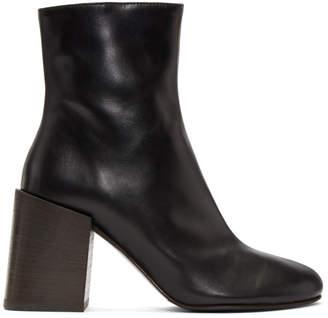 Acne Studios Black Saul Ankle Boots