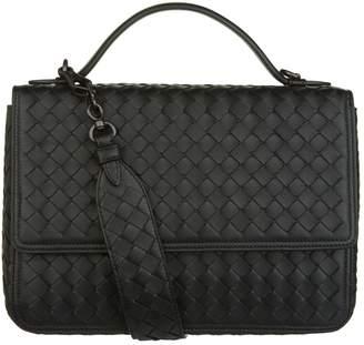 Bottega Veneta Leather Alumna Shoulder Bag